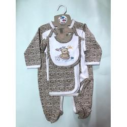 Set đồ cho bé từ 3 đến 6 tháng tuổi mẫu 4