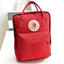 Ba lô canvas thời trang phong cách Hàn Quốc HQ TU8127 2 Màu đỏ