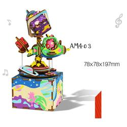 The Universe Music Box – Mô hình Hộp nhạc Vũ Trụ