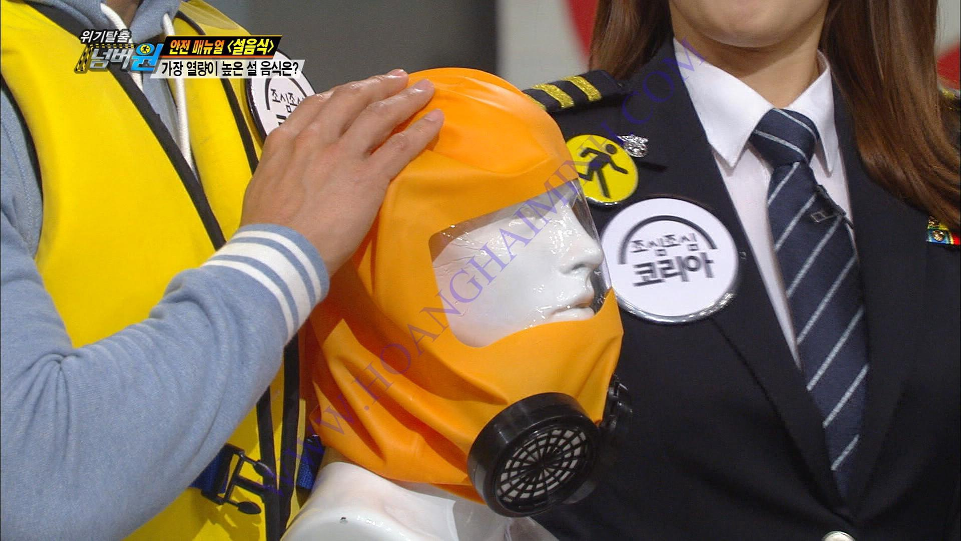 Mặt nạ thoát hiểm hỏa hoạn Eco Pure Korea - Hàn Quốc 2