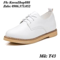 Giày Sneaker Da Mã T43
