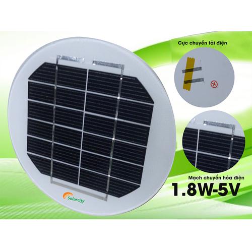 Tấm pin mặt trời mini 6V 1.8W mono - 4909773 , 6398092 , 15_6398092 , 80000 , Tam-pin-mat-troi-mini-6V-1.8W-mono-15_6398092 , sendo.vn , Tấm pin mặt trời mini 6V 1.8W mono