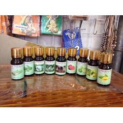 Tinh dầu 18 mùi hương, dùng cho đèn xông tinh dầù