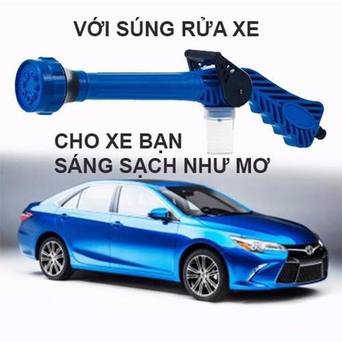 súng rửa xe tăng áp lực nước