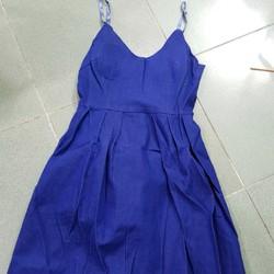 280k Sale 160k - Đầm jean xòe 2 dây