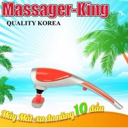 Máy massage cầm tay 10 đầu hồng ngoại  korea
