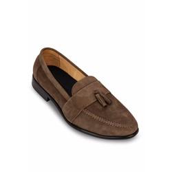 Giày lười nam G03N da lộn