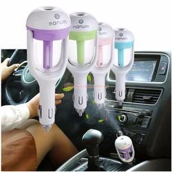 Máy phun sương tinh dầu tạo độ ẩm thông minh trên xe hơi
