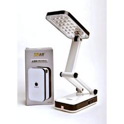 Đèn Để Bàn Học DP-666 Pin Sạc – 24 Bóng Đèn Led – Chân Xếp