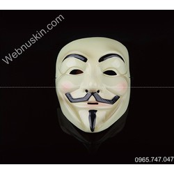 Mặt Nạ Hacker Anonymous Guy Fawker