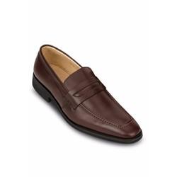 Giày lười nam công sở G1N màu nâu