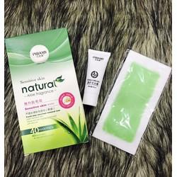 Wax lông Pibamy Sensitive Skin 1 tuýp Gel wax +  10 miếng dán wax lông