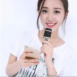 Bộ micro karaoke thu âm M5 sành điệu