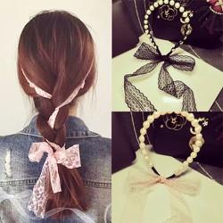 Cài tóc trân châu