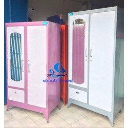 tủ sắt đựng quần áo kiểu dáng đẹp giá rẻ hcm