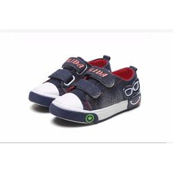 Giày vải jean cho bé trai từ 6-12 tuổi