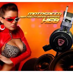 Tai nghe có dây chuyên game Motospeed H68 màu Đen