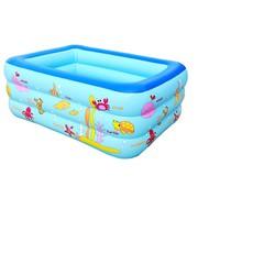 Bể bơi phao 3 tầng cho bé kích thước 130x85x55cm