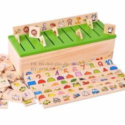 Thả hình theo chủ đề đồ chơi giáo dục