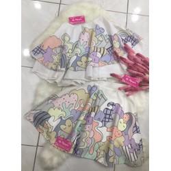 Set bộ chân váy nữ xinh xắn M2 - Hàng Thái