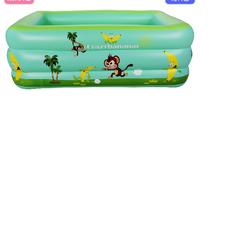 Bể bơi phao 3 tầng cho bé kích thước 150x110x50cm