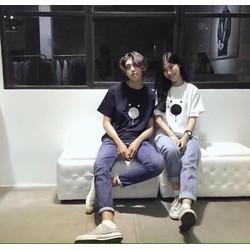 ÁO THUN COUPLE GẤU  XINH IU