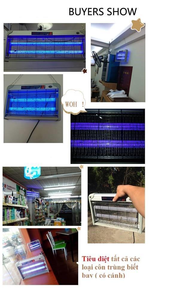 Đèn LED diệt muỗi và côn trùng BOSDA 2w 1