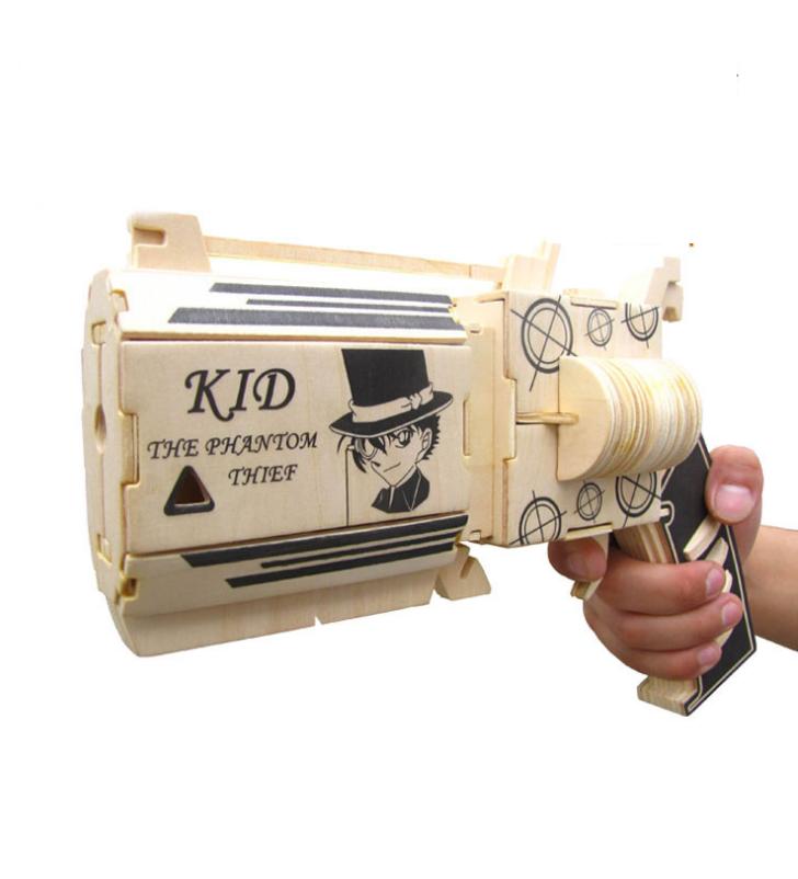 Đồ chơi lắp ráp gỗ 3D Mô hình Kaito Kid 1