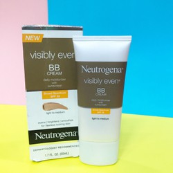 Neutrogena Visibly Even Daily Moiturizer SPF 30 - 50ml.