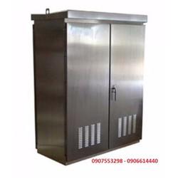 Vỏ tủ điện inox 304, IP65, chống thấm nước, ngoài trời có mái che