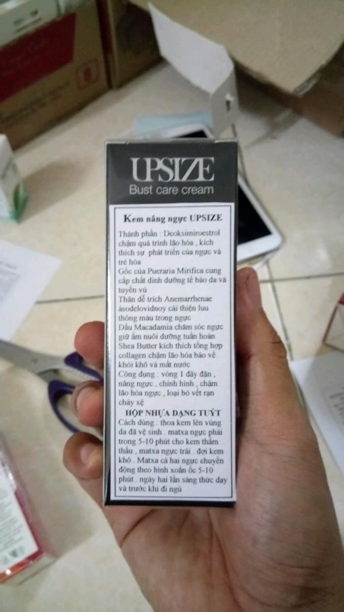KEM NÂNG NỞ NGỰC Upsize 2