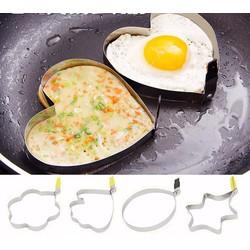 Combo Khay chiên trứng trái tim và ngôi sao