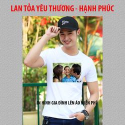 LAN TỎA YÊU THƯƠNG - Miễn phí in áo thun, in áo phông hình gia đình