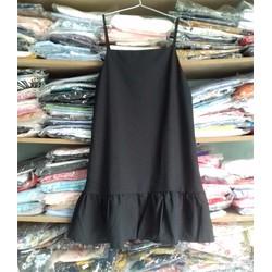 Đầm suông dây lai bèo
