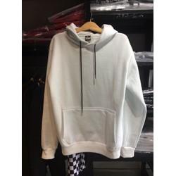 Áo hoodie trắng