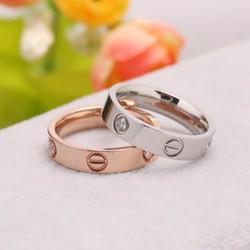 Nhẫn cặp cartier - nhẫn đôi tình yêu