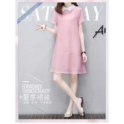 Đầm suông Hàn Quốc cao cấp, đầm suông nhập khẩu, đầm suông dạo phố