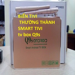 TIVI  BOX - SMART  BOX Q9S- android tivibox -tivibox- android