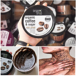 Tẩy Da Chết Toàn Thân Organic Coffee Sugar Body Scrub