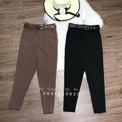 quần baggy kèm đai