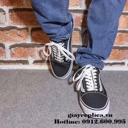 Giày Sneaker Old Skool Đen Trắng