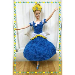 Đầm len Babie fairytale - công chúa lọ lem Cinderella