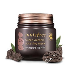 MẶT NẠ ĐẤT SÉT IN NISFREE SUPER VOLCANIC PORE CLAY MASK