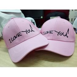 Nón lưỡi trai I Love You H1133