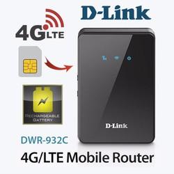 THIẾT BỊ PHÁT WIFI 4G DI ĐỘNG D-LINK DWR-932C