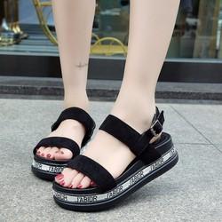 Giày Sandal cá tính độc đáo - thời trang xì teen