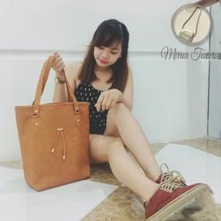 Túi xách nữ màu cam chất da tốt giá cực rẻ