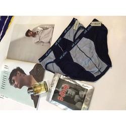 Combo 4 quần lót nam Thái Lan ví bạc cao cấp làm quà tặng