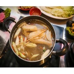 Thưởng Thức Hương Vị Lẩu Hàn Quốc Dành Cho 04 Người Tại Nhà Hàng Dackalbi  Chicken Roal City  Free Panchan
