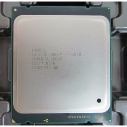 Intel Core i7 3820 3.6GHz up to 3.8GHz, 10MB Cache, LGA2011 ko fan